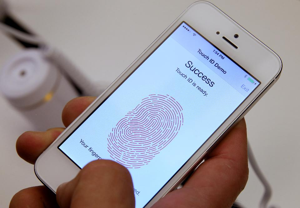Phone thumbprint