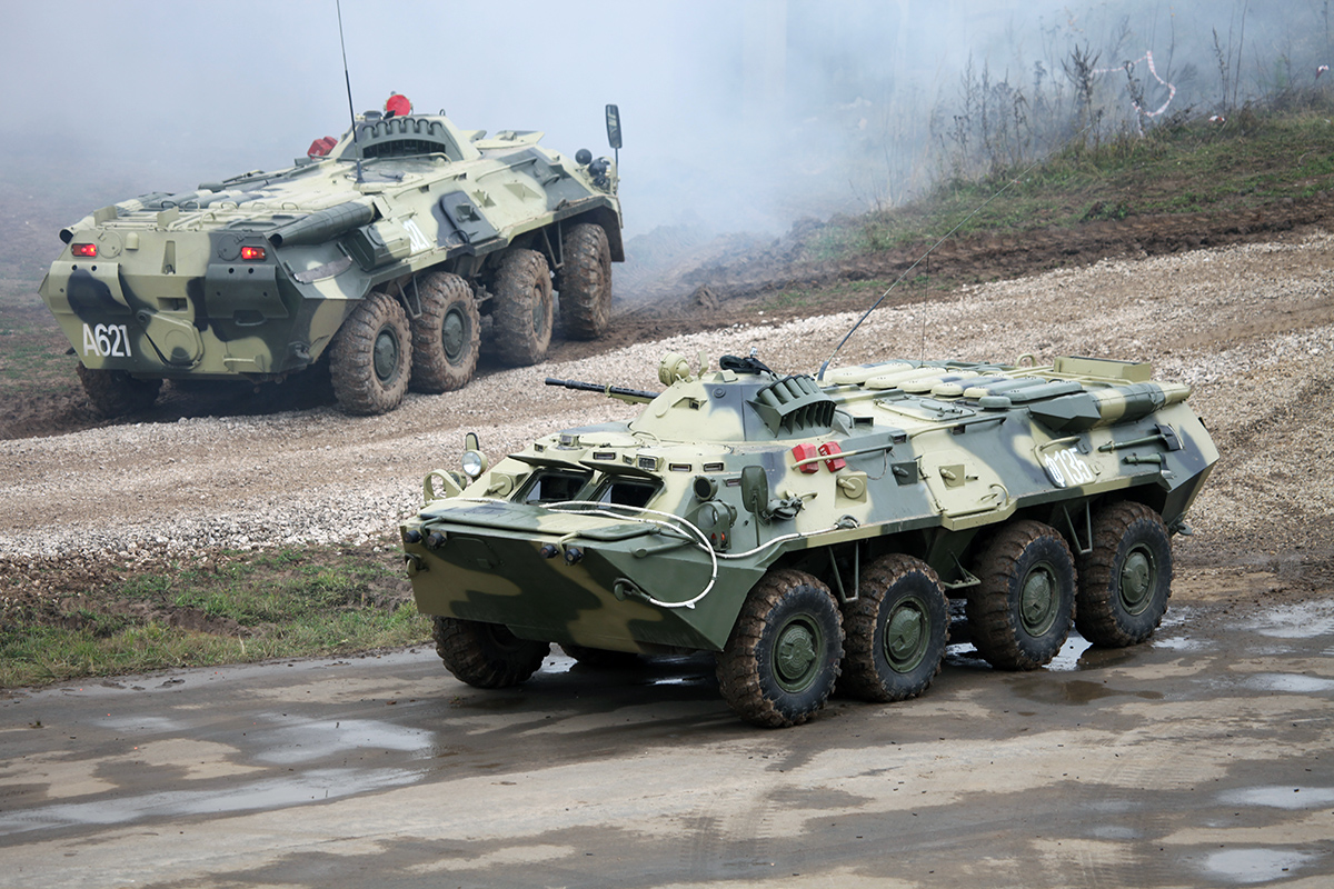 Russian-armored-personnel-carriers