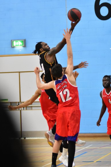 Essex Leopards v East London All Stars, 15 Oct 2017; John Shodipo