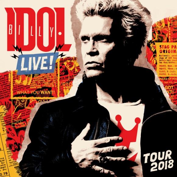 Billy Idol Live! Tour 1 copy