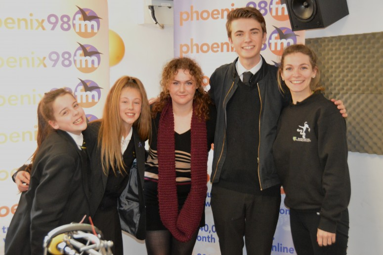 Lily Dawson, Lucia Rawlings, Amy Hollingsworth,  Dan West and Mrs Bradley