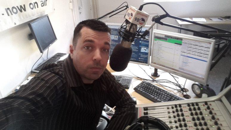 Charlie Davy Phoenix FM Selfie