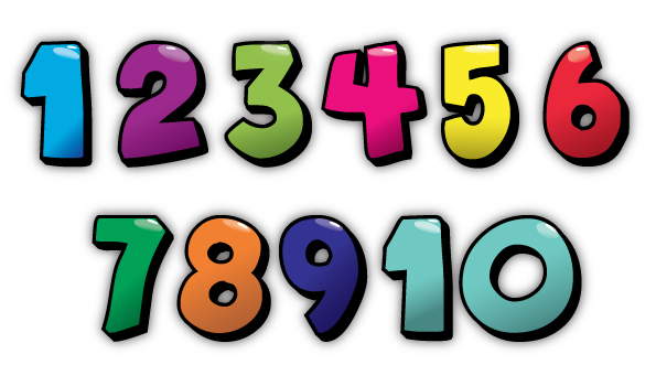 Irresistible image for printable numbers 1-10