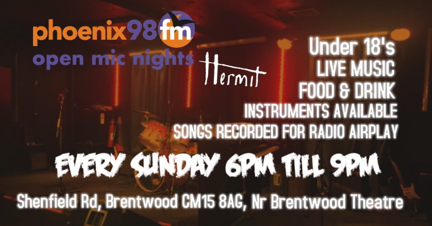 Phoenix FM - Community Radio for Brentwood and Billericay